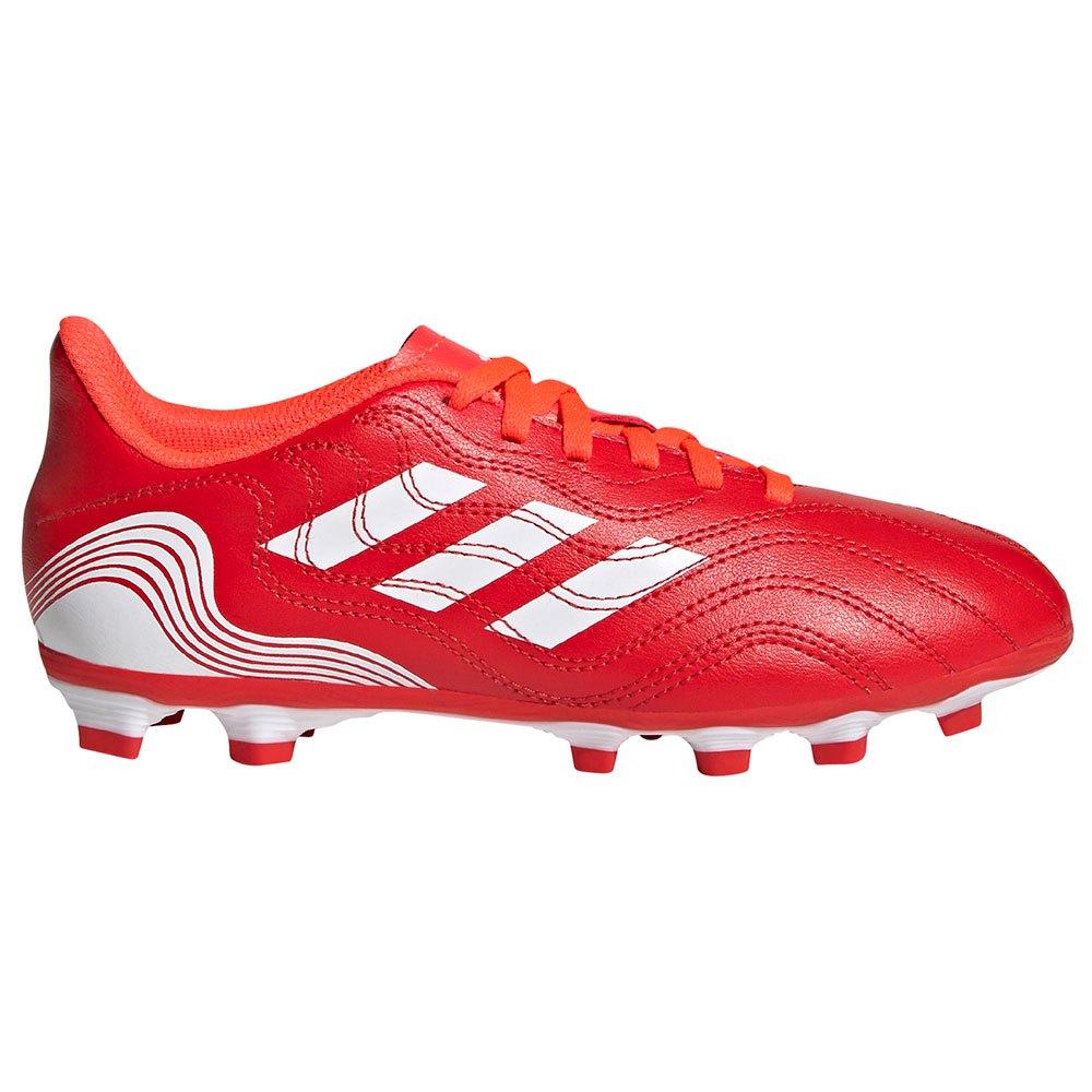 Adidas Chaussures Football Copa Sense.4 Fxg EU 33 Red / Ftwr White / Solar Red