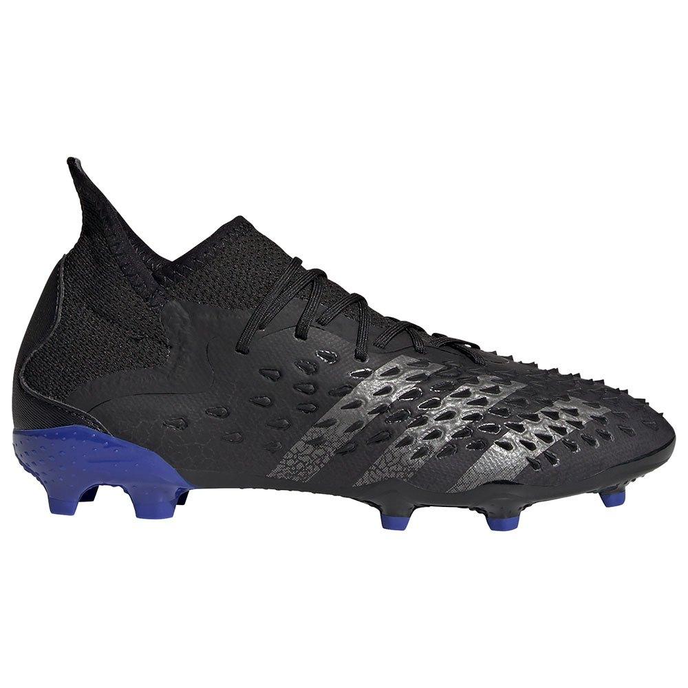 Adidas Chaussures Football Predator Freak.1 Fg EU 35 Core Black / Iron Metalic / Sonic Ink 1