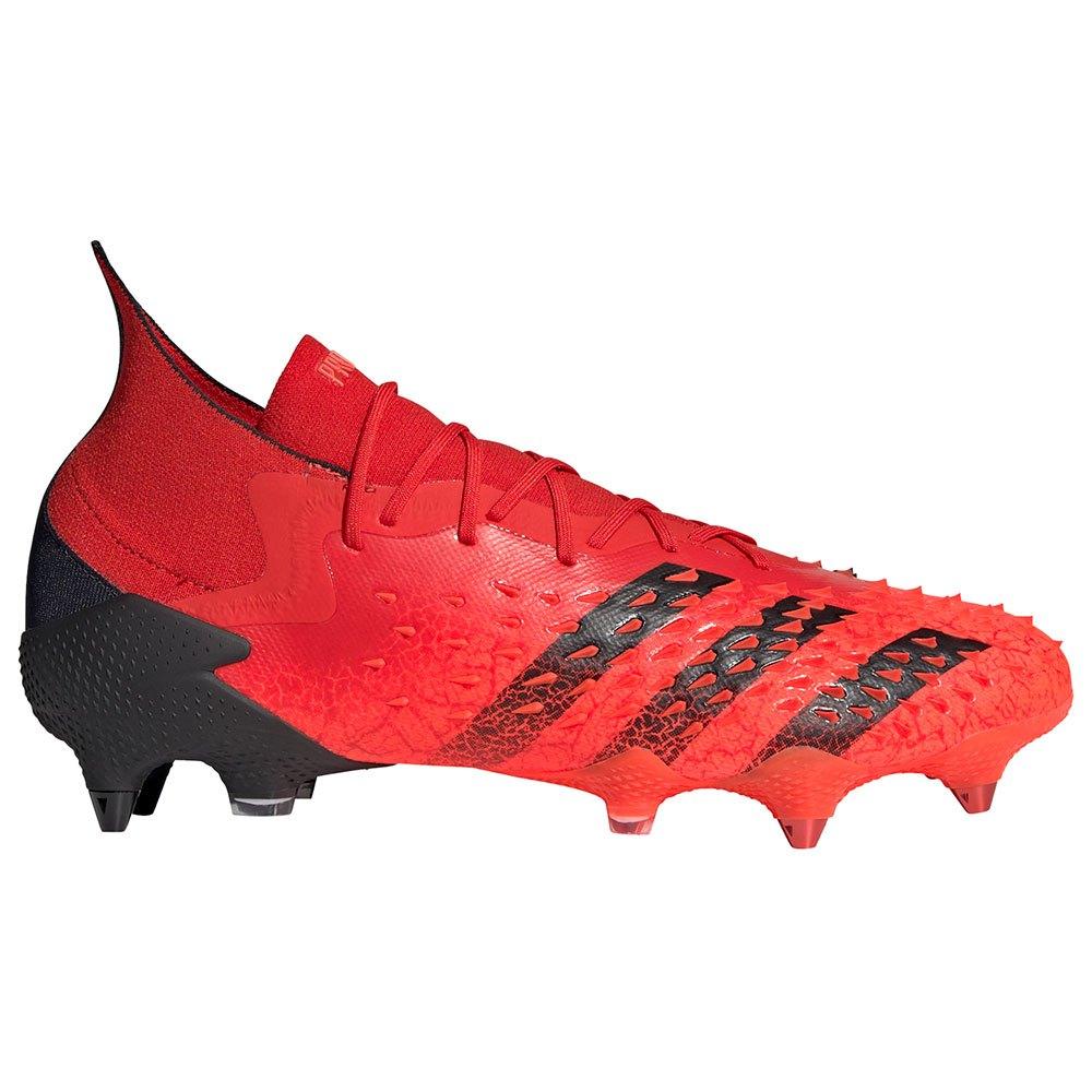 Adidas Chaussures Football Predator Freak.1 Sg EU 45 1/3 Red / Core Black / Solar Red