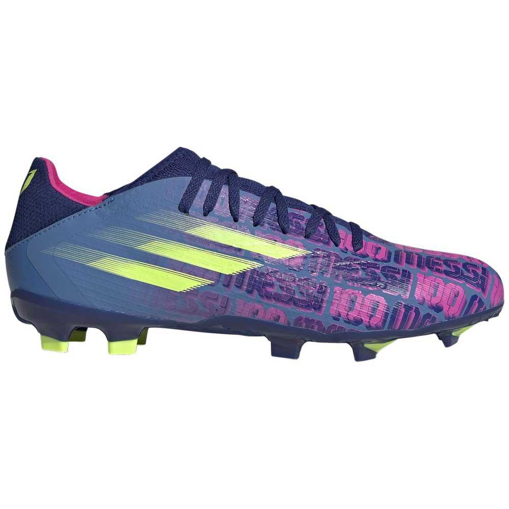 Adidas Chaussures Football X Speedflow Messi.3 Fg EU 42 Victory Blue / Shock Pink / Solar Yellow