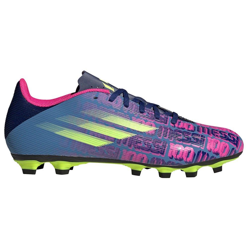 Adidas Chaussures Football X Speedflow Messi.4 Fxg EU 42 Victory Blue / Shock Pink / Solar Yellow