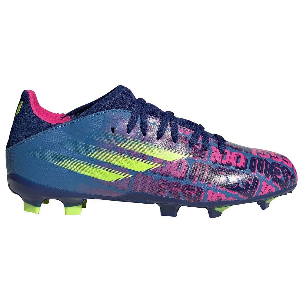 Adidas Chaussures Football X Speedflow Messi.3 Fg EU 37 1/3 Victory Blue / Shock Pink / Solar Yellow 1