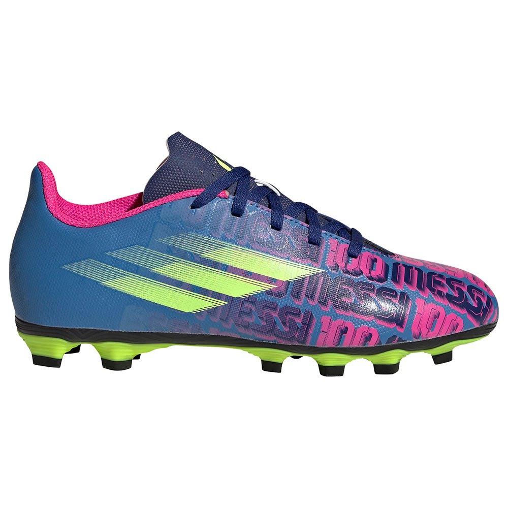 Adidas Chaussures Football X Speedflow Messi.4 Fxg EU 38 Victory Blue / Shock Pink / Solar Yellow 1