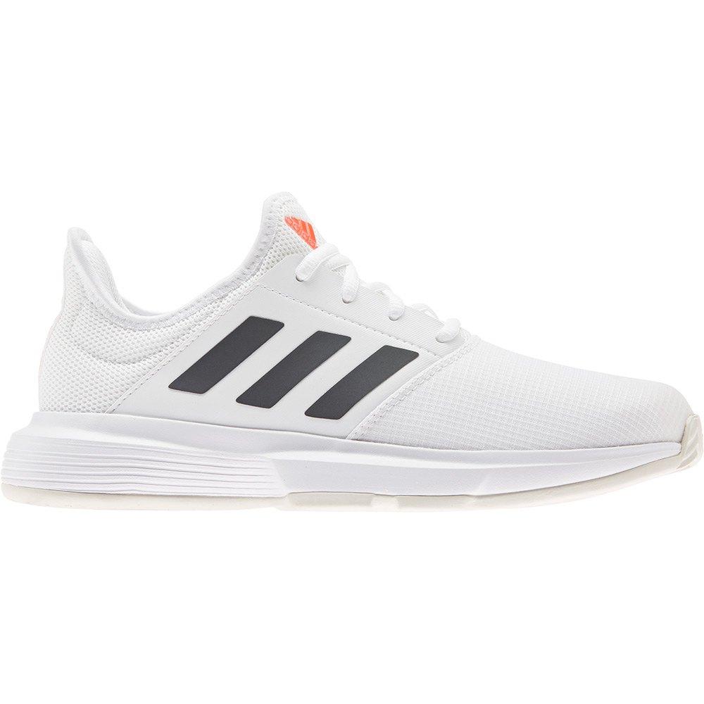 Adidas Chaussures Gamecourt EU 38 2 /3 Ftwr White / Core Black / Solar Red
