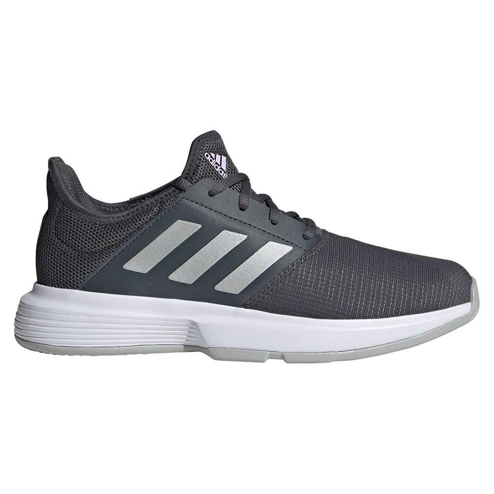 Adidas Chaussures Gamecourt EU 38 Grey Six / Silver Metalic / Purple Tint