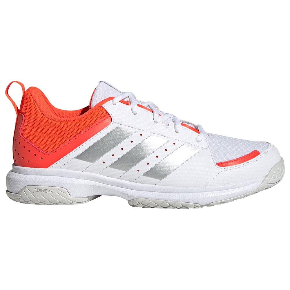 Adidas Chaussures Sport Ligra 7 EU 45 1/3 Ftwr White / Acid Yellow / Solar Red