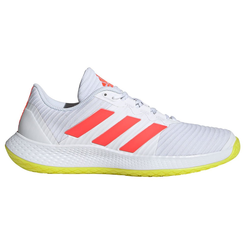 Adidas Chaussures Sport Forcebounce EU 45 1/3 Ftwr White / Solar Red / Acid Yellow