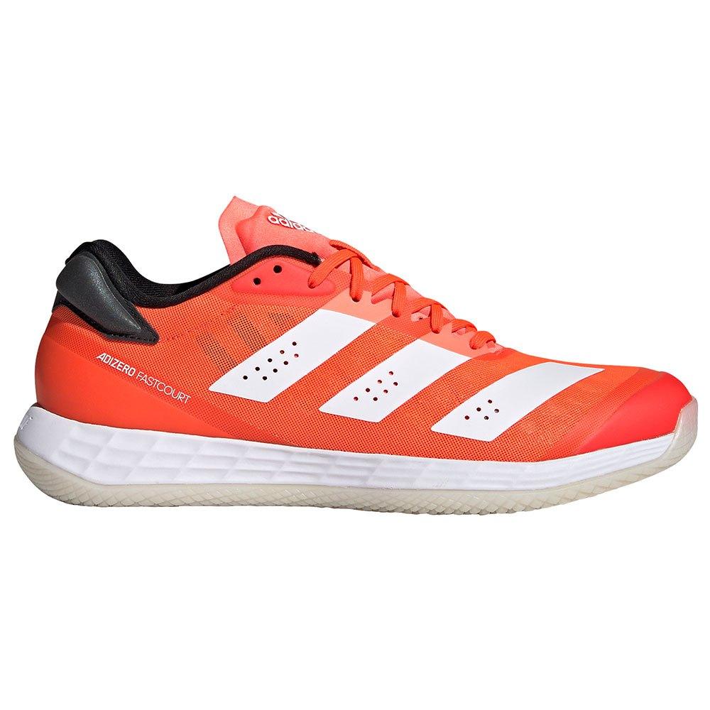 Adidas Badminton Chaussures Indoor Adizero Fastcourt 2.0 EU 42 2/3 Solar Red / Ftwr White / Core Black