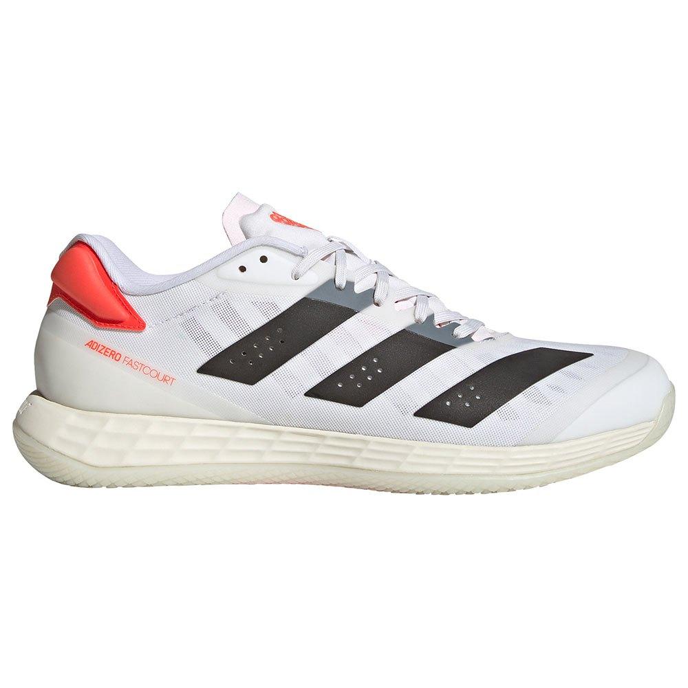 Adidas Chaussures Indoor Adizero Fastcourt 2.0 EU 38 Ftwr White / Core Black / Solar Red