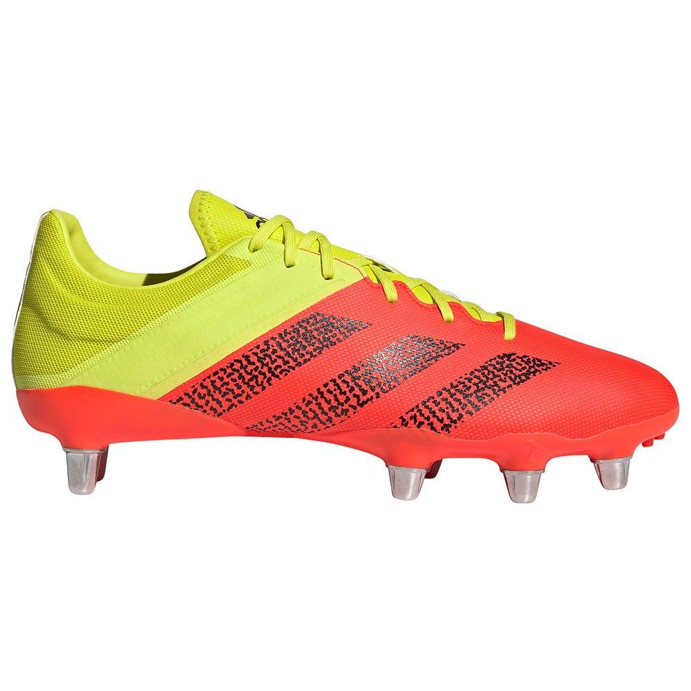 Adidas Chaussures Rugby Kakari Elite Sg EU 45 1/3 Acid Yellow / Core Black / Solar Red