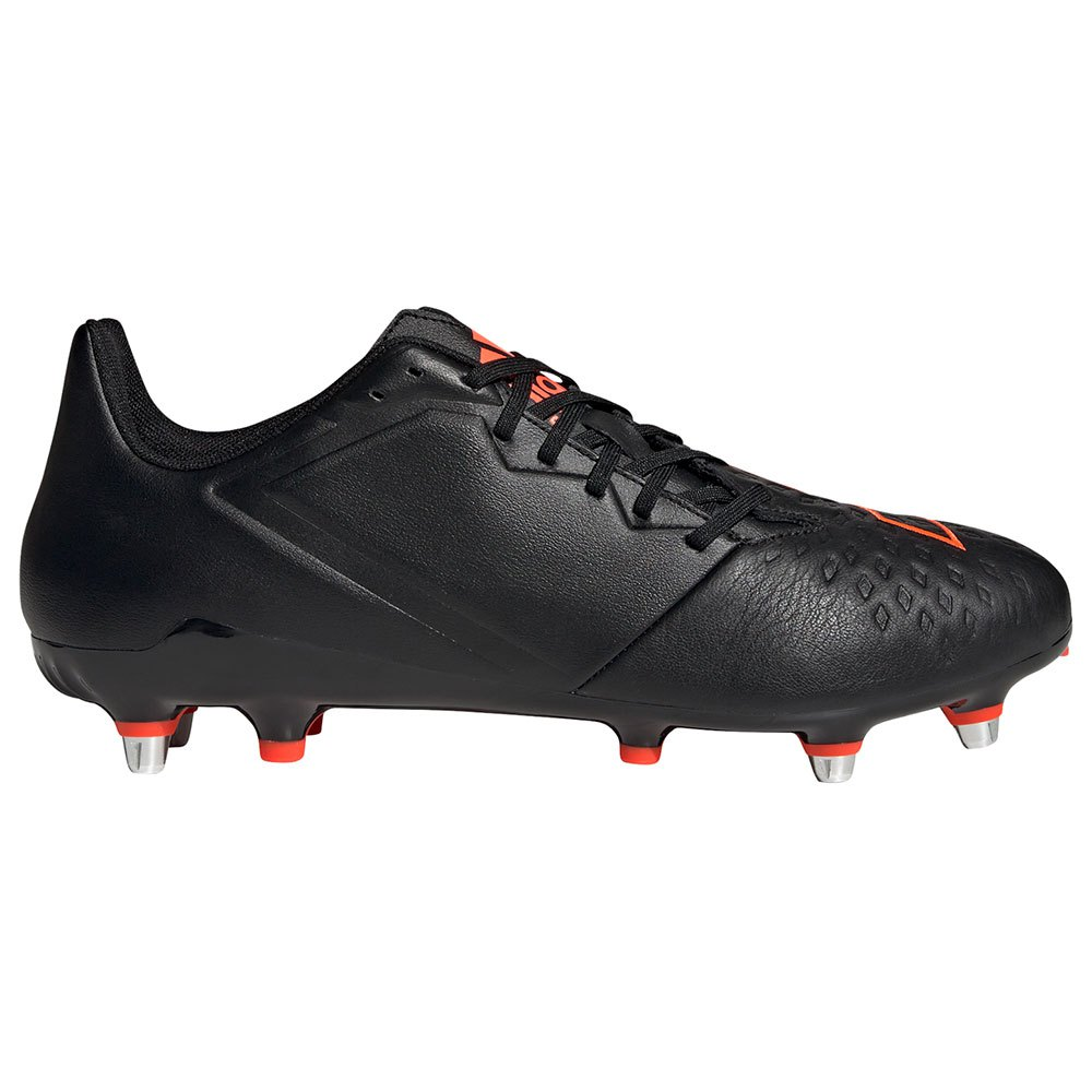 Adidas Chaussures Rugby Malice Elite Sg EU 45 1/3 Core Black / Solar Red / Ftwr White