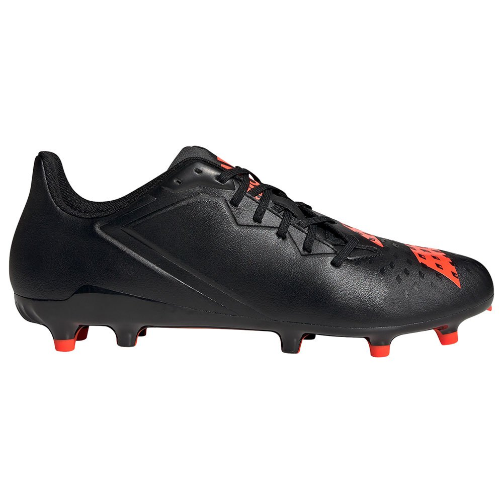 Adidas Chaussures Rugby Malice Fg EU 47 1/3 Core Black / Solar Red / Ftwr White