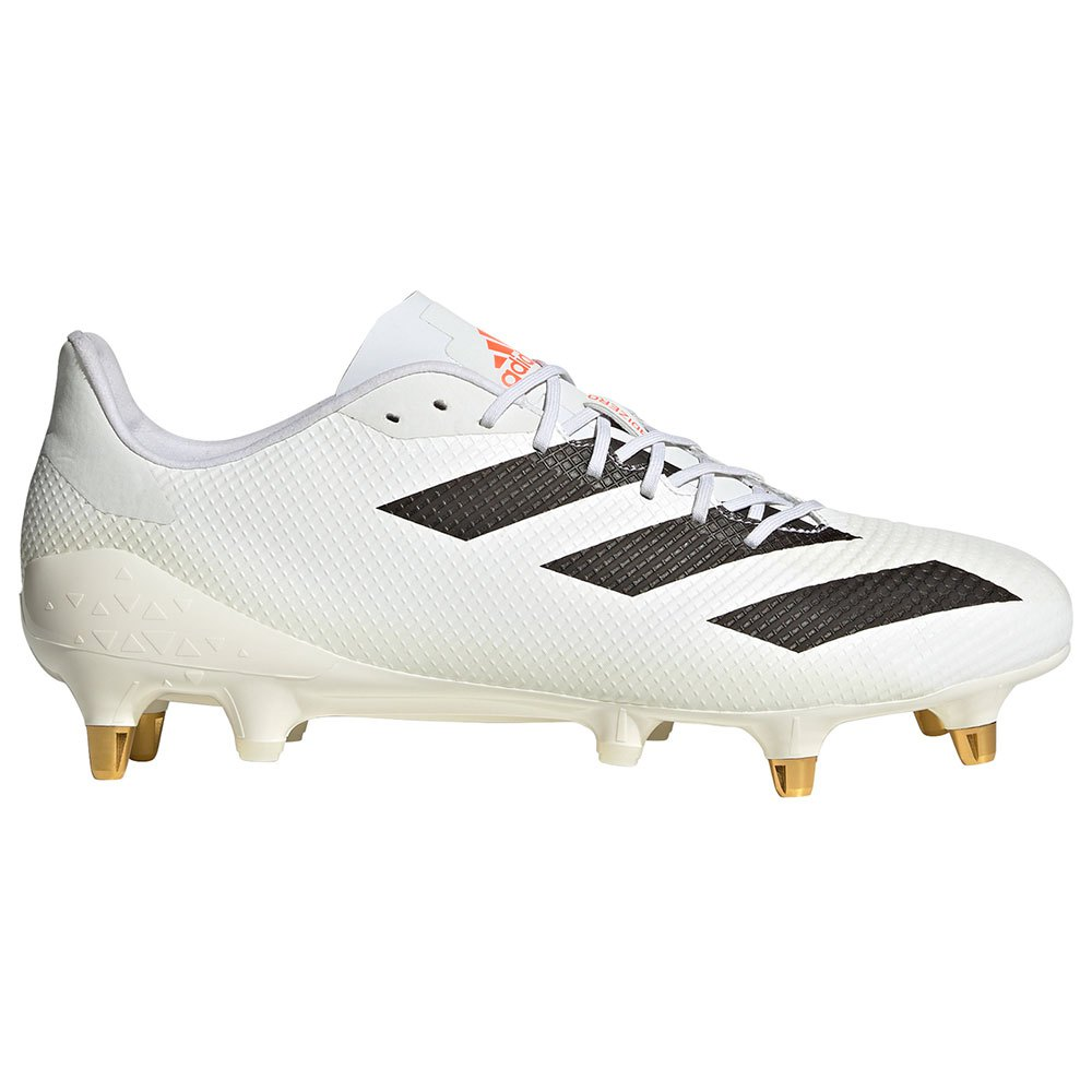 Adidas Chaussures Rugby Adizero Rs7 Sg EU 39 1/3 Ftwr White / Core Black / Solar Red