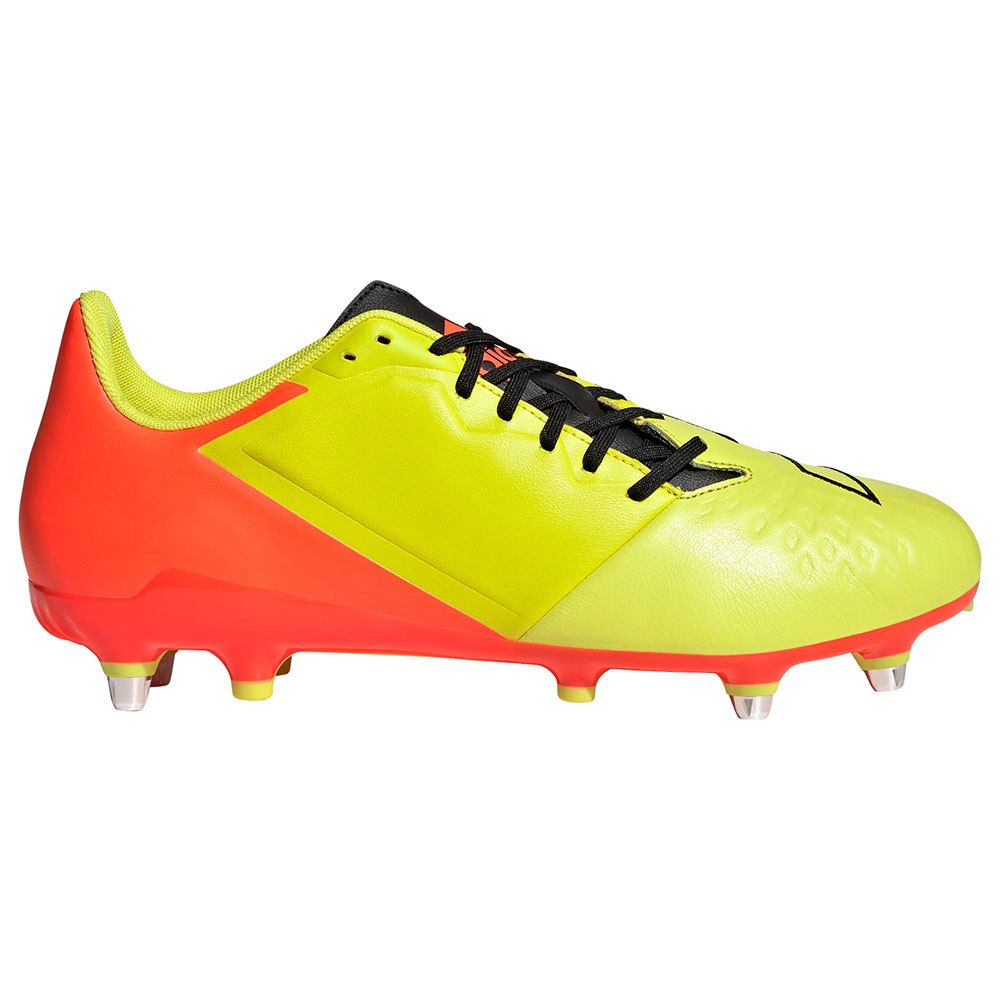 Adidas Chaussures Rugby Malice Elite Sg EU 46 Acid Yellow / Core Black / Solar Red