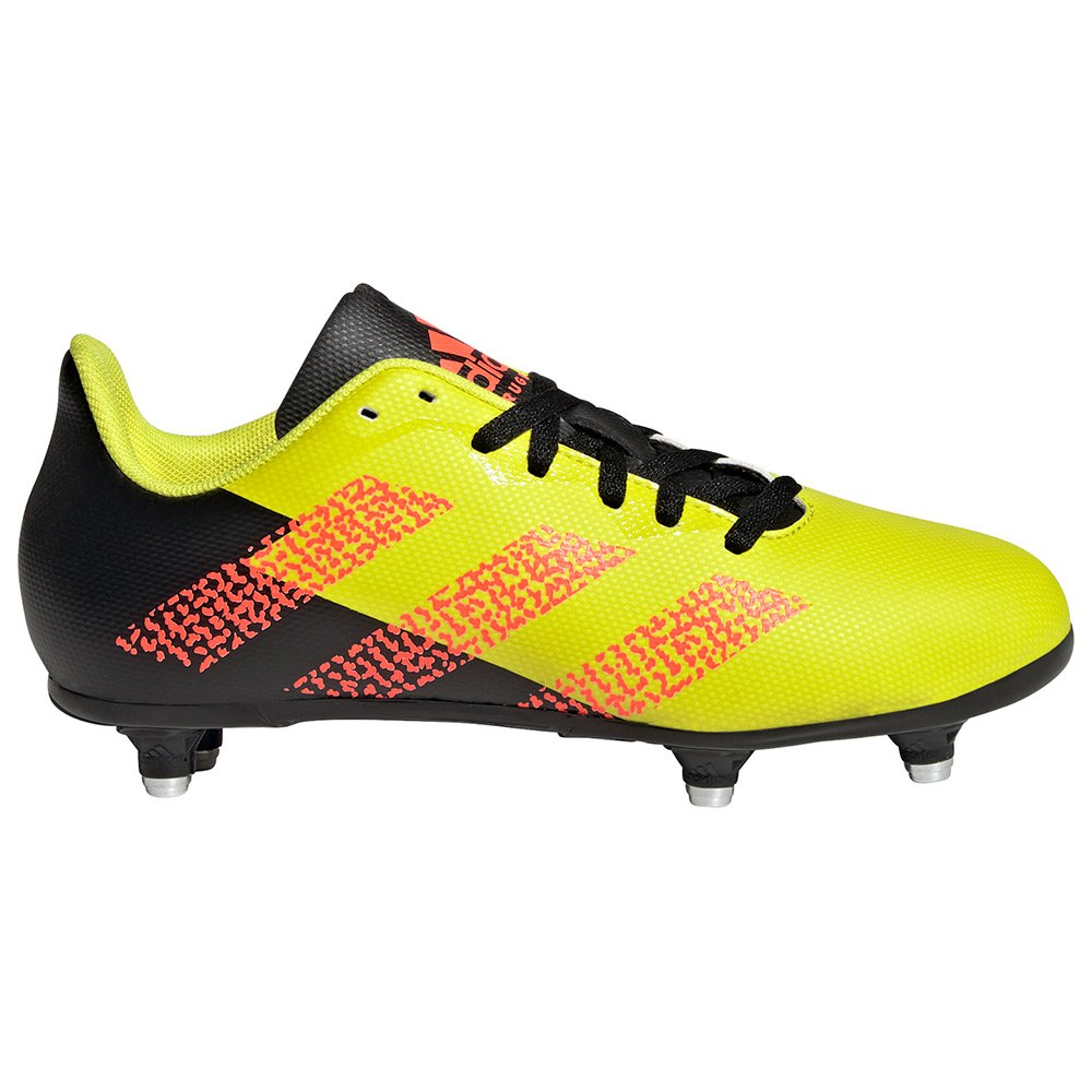 Adidas Chaussures Rugby Sg EU 38 Acid Yellow / Solar Red / Core Black