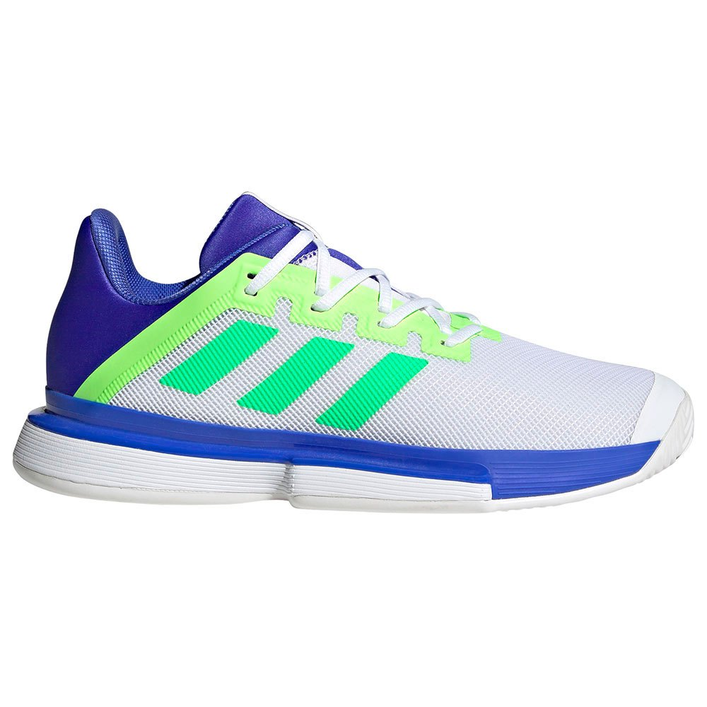 Adidas Chaussures Solematch Bounce EU 46 Sonic Ink / Screaming Green / Signal Green