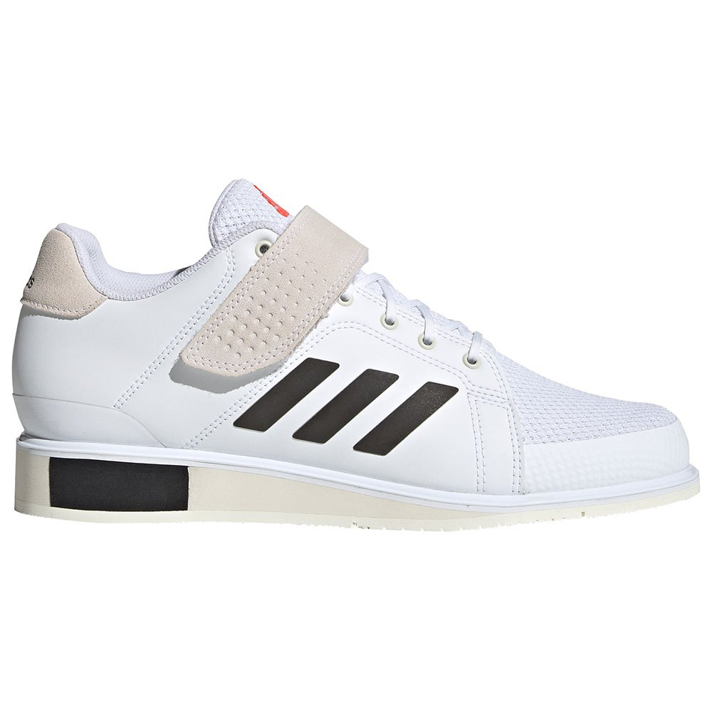 Adidas Chaussures Power Perfect Iii EU 43 1/3 Ftwr White / Core Black / Solar Red