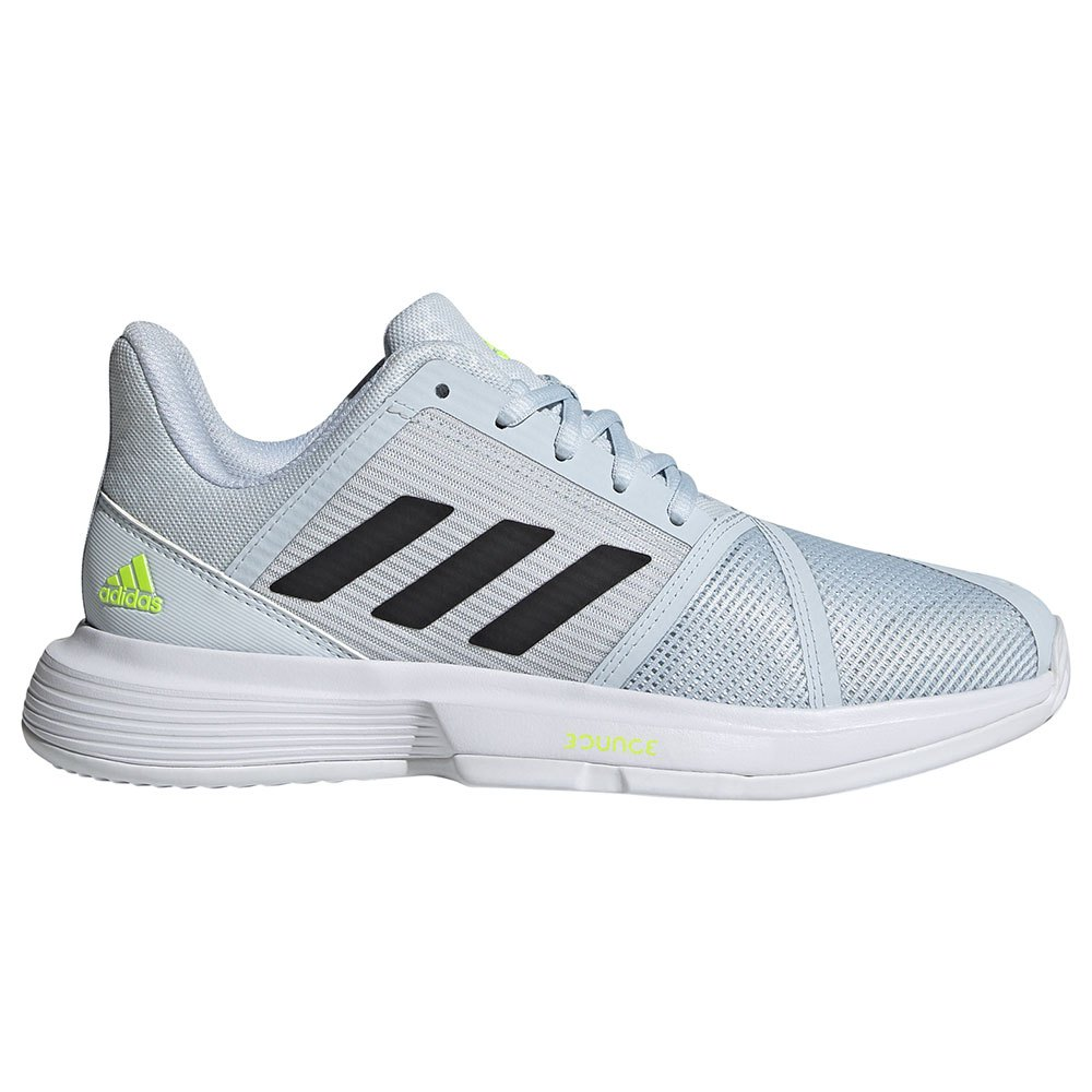 Adidas Chaussures Terre Battue Courtjam Bounce EU 38 2/3 Ftwr White / Core Black / Halo Blue