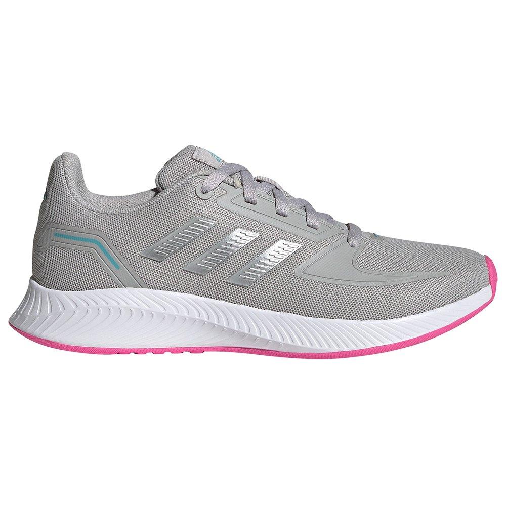 Adidas Zapatillas Runfalcon 2.0 Niño Grey Two / Silver Metalic / Screaming Pink