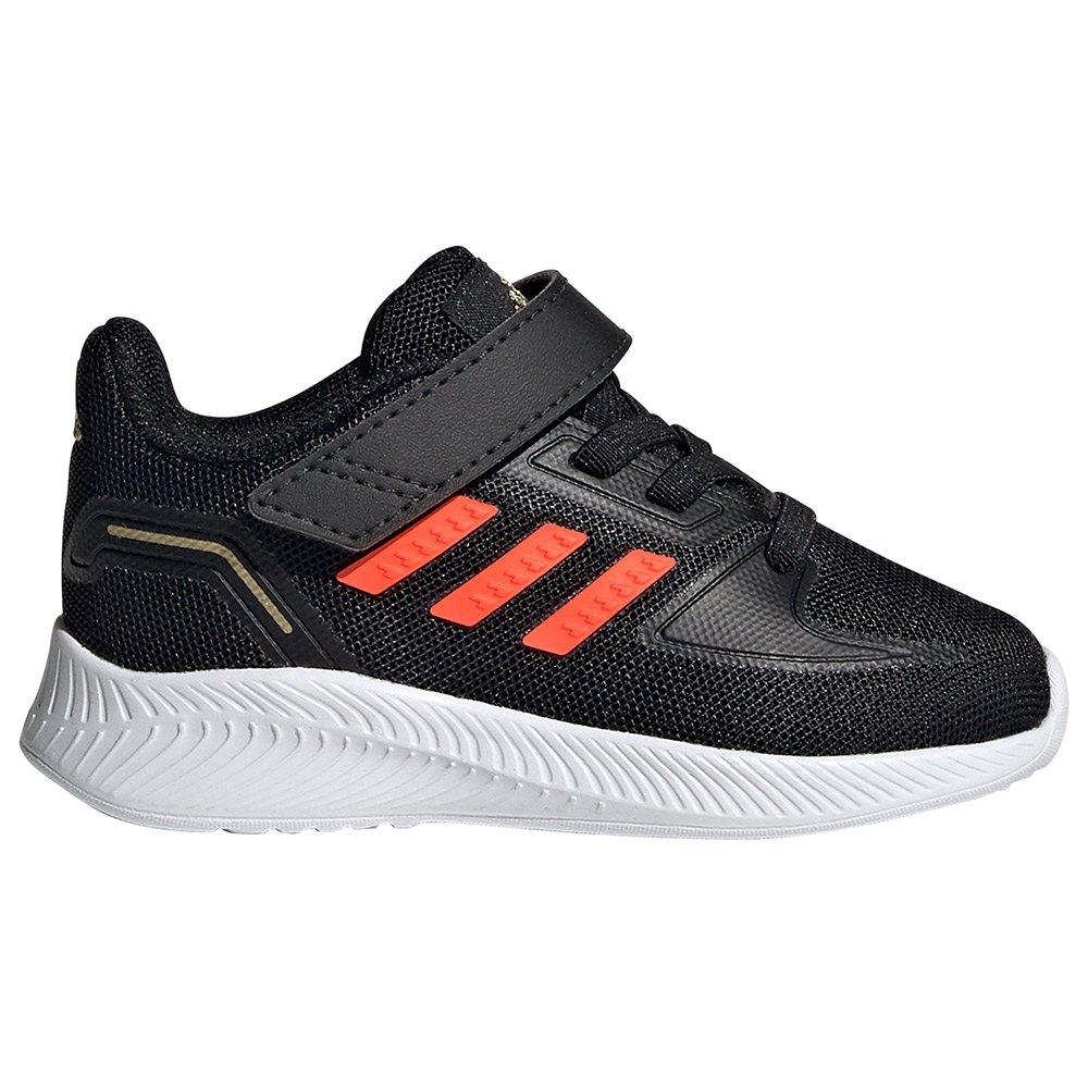 Adidas Zapatillas Velcro Runfalcon 2.0 Infantil Core Black / Solar Red / Ftwr White