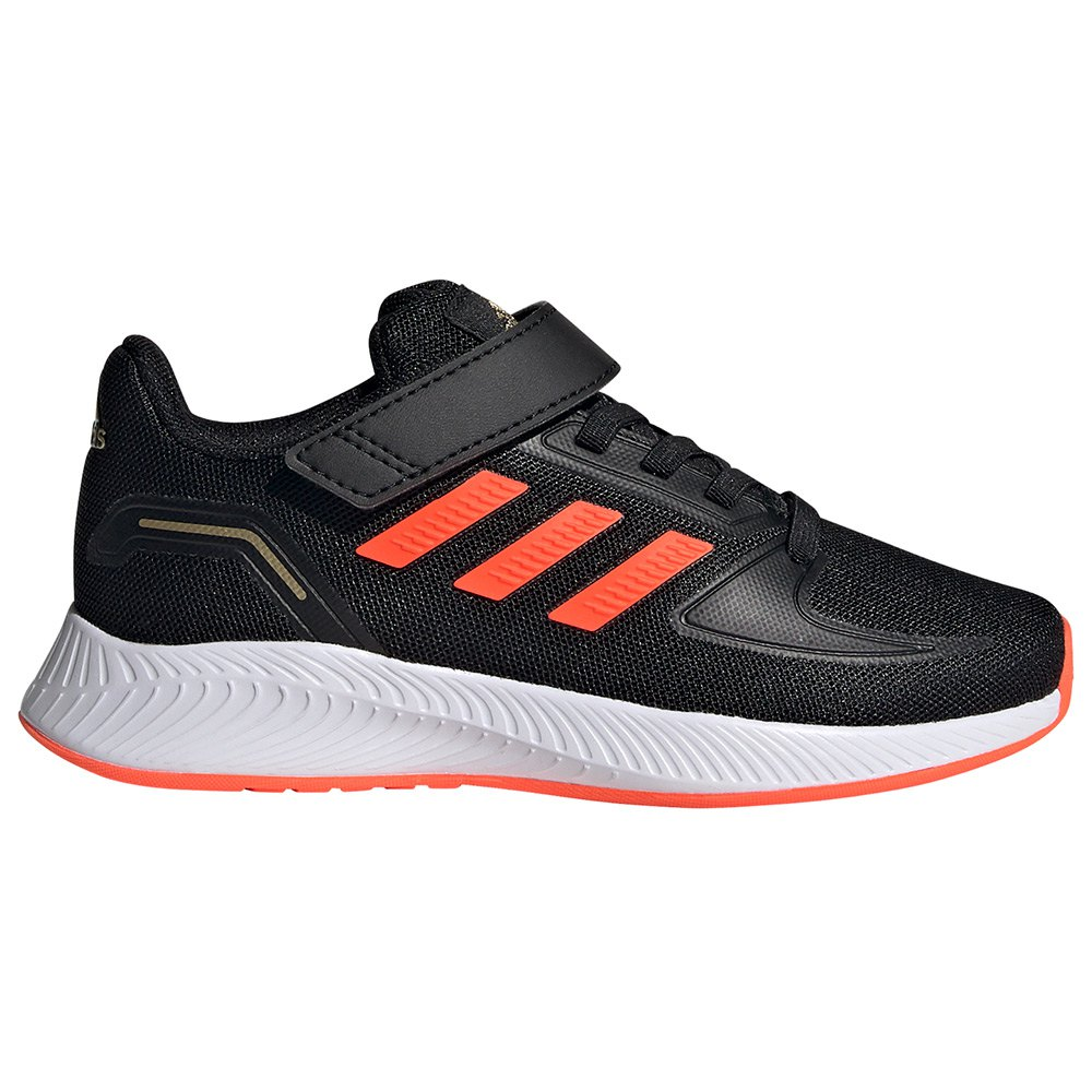 Adidas Zapatillas Velcro Runfalcon 2.0 Chlid Core Black / Solar Red / Ftwr White