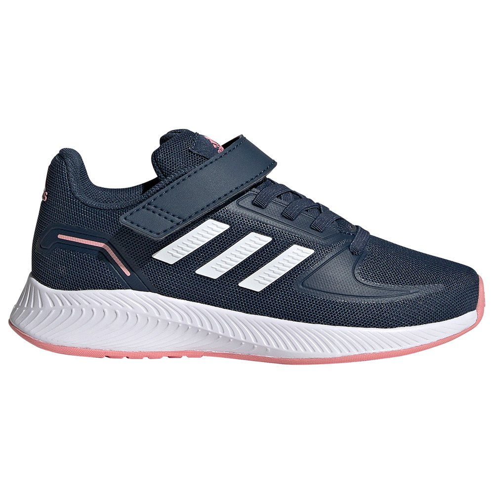 Adidas Zapatillas Velcro Runfalcon 2.0 Chlid Crew Navy / Ftwr White / Super Pop
