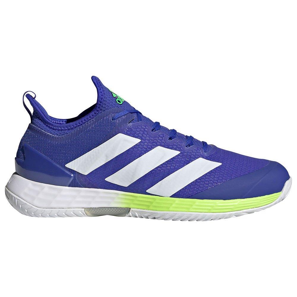 Adidas Chaussures Adizero Ubersonic 4 EU 42 2/3 Sonic Ink / Ftwr White / Signal Green