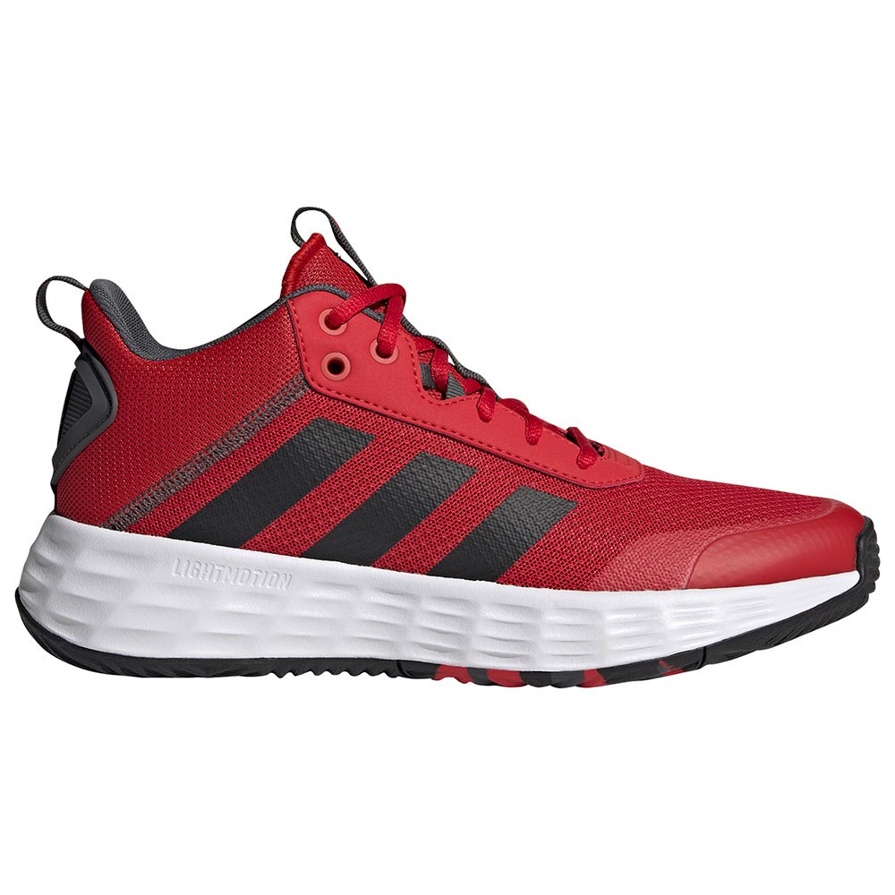 Adidas Chaussure Basket Own The Game 2.0 EU 41 1/3 Scarlet / Core Black / Grey Six
