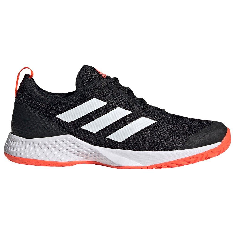 Adidas Chaussures Court Control EU 41 1/3 Core Black / Ftwr White / Solar Red