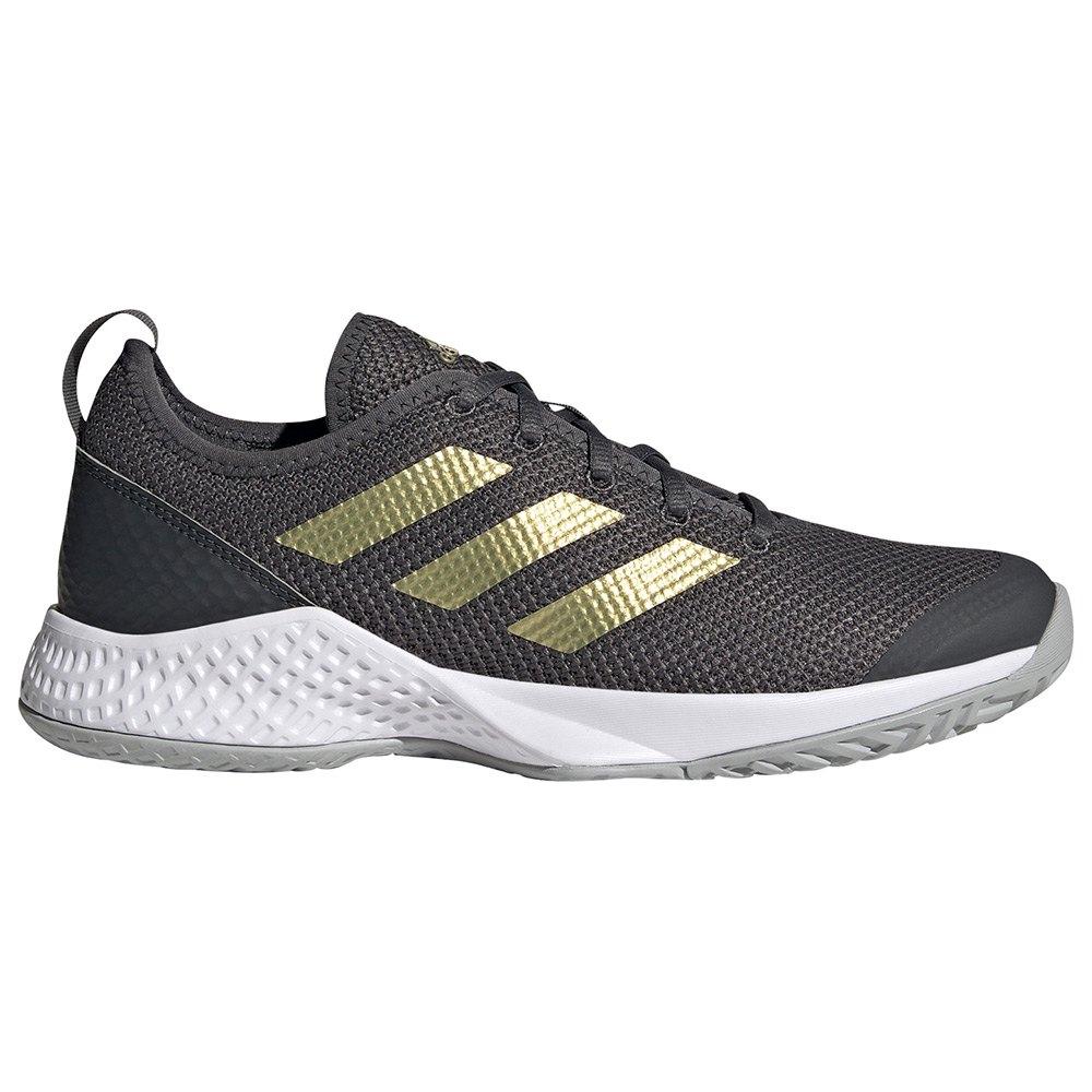 Adidas Chaussures Court Control EU 40 2/3 Grey Six / Gold Metalic / Ftwr White