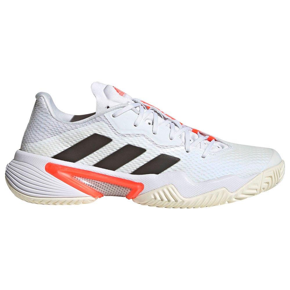 Adidas Chaussures Barricade EU 38 Ftwr White / Core Black / Solar Red 1
