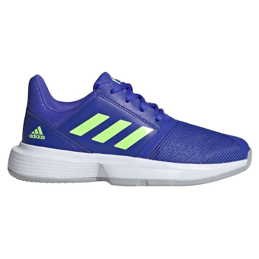 Adidas Baskets Courtjam Xj EU 36 2/3 Sonic Ink / Signal Green / Ftwr White