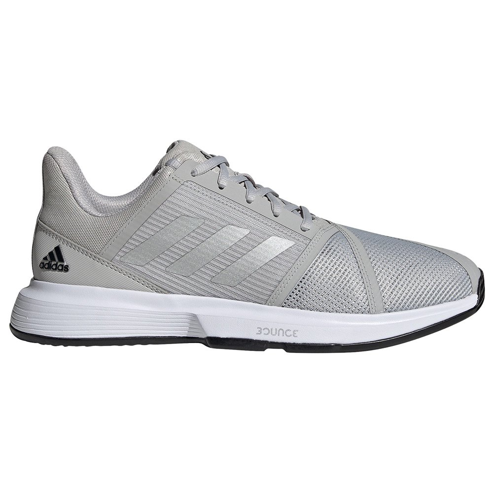 Adidas Chaussures Courtjam Bounce EU 42 2/3 Grey Two / Silver Metalic / Core Black