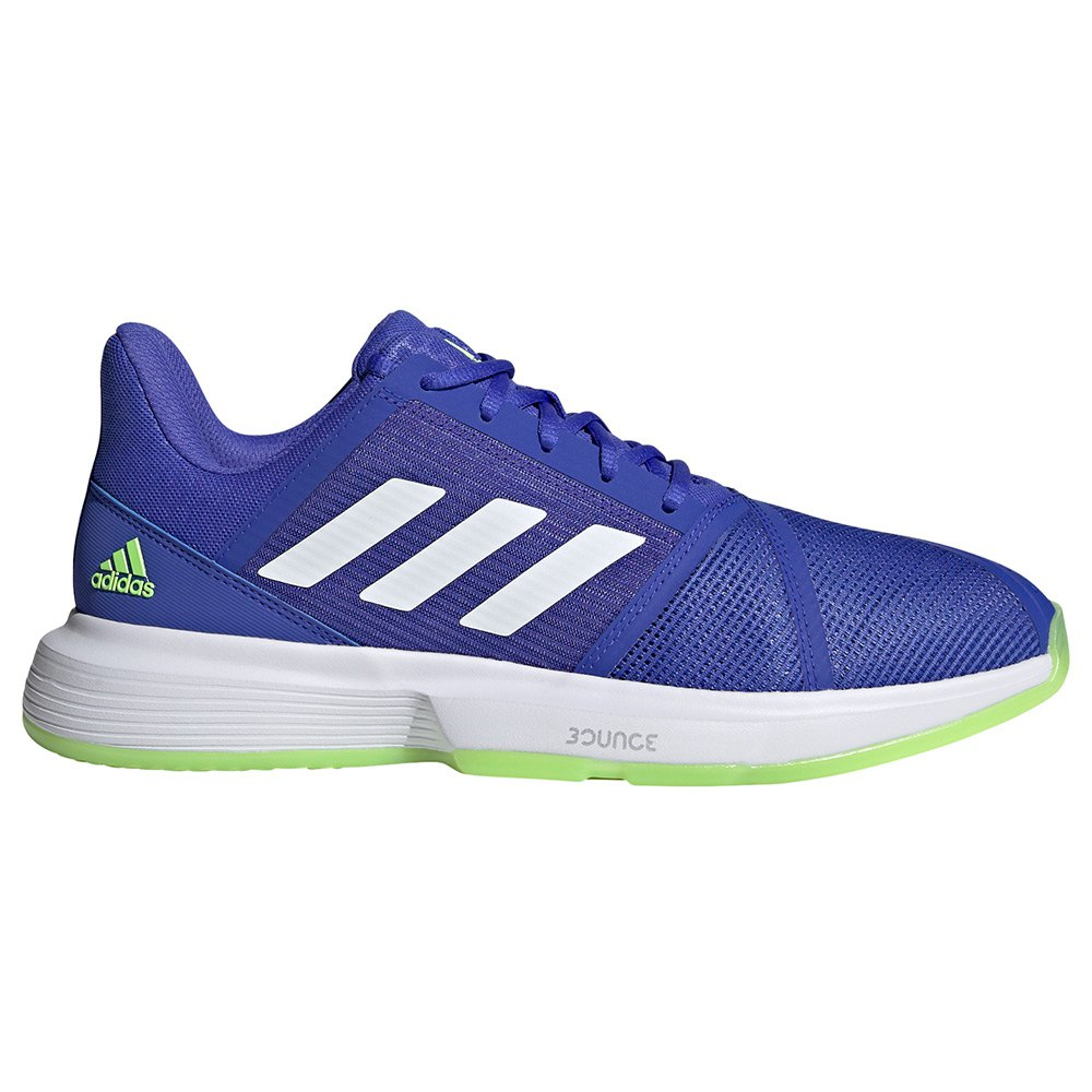 Adidas Chaussures Courtjam Bounce EU 44 2/3 Sonic Ink / Ftwr White / Signal Green