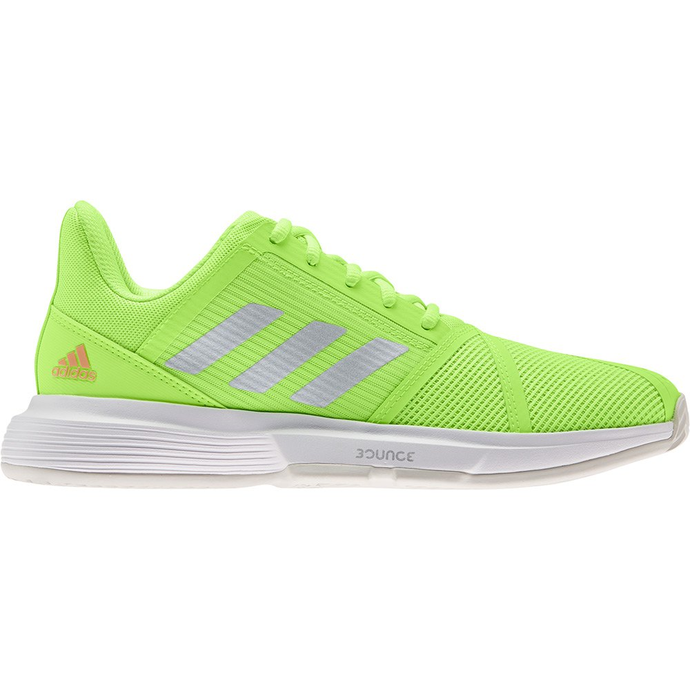 Adidas Chaussures Courtjam Bounce EU 40 Signal Green / Silver Metalic / Ftwr White