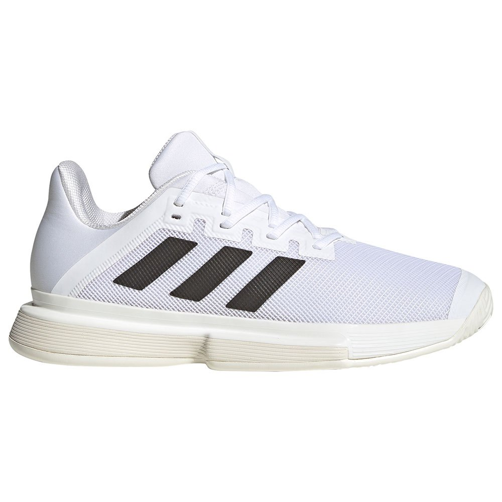 Adidas Chaussures Solematch Bounce EU 42 2/3 Ftwr White / Core Black / Solar Red 1