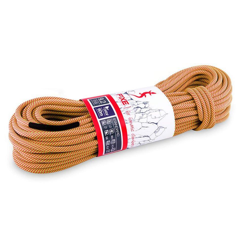 Fixe Climbing Gear Chaîne Standard Dry 9.2 Mm 60 m Pink / Green