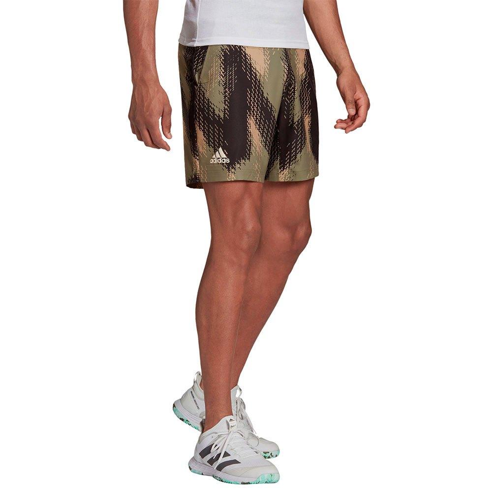 Adidas Les Shorts Printed M Orbit Greembient Blush