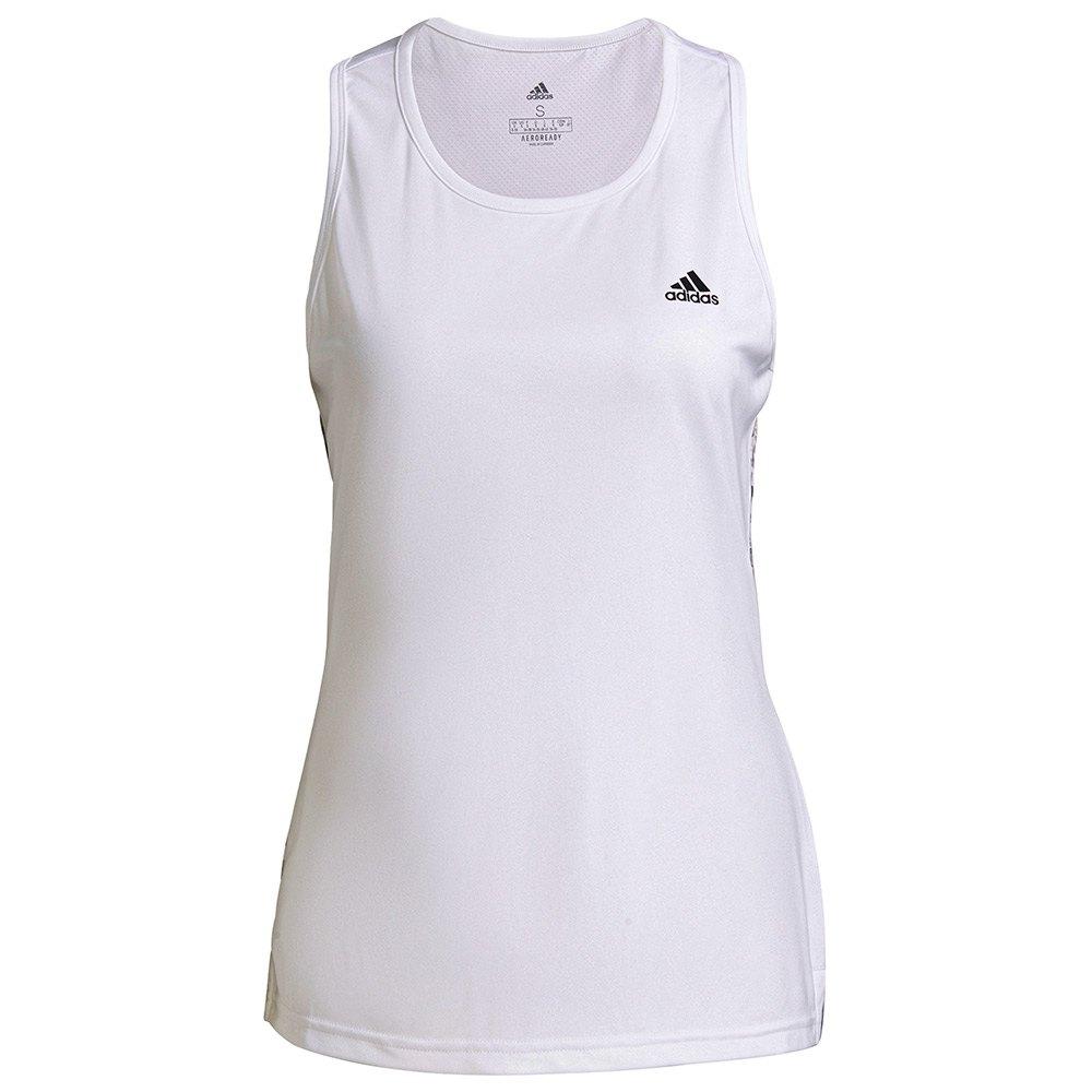 Adidas Débardeur Aop XXS White / Crystal White