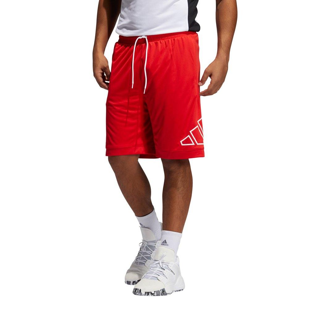 Adidas Les Shorts Big Logo S Vivid Red