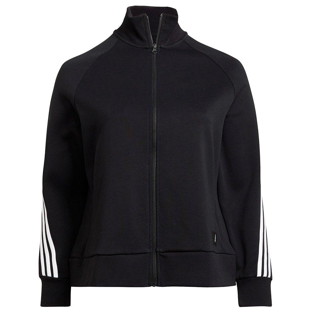 Adidas Sweatshirt Fi 3 Stripes Big 2X Black