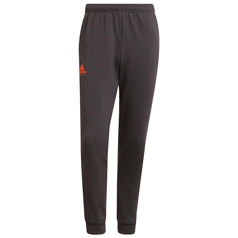 Adidas Pantalons Hb Train M Grey Six / App Solar Red