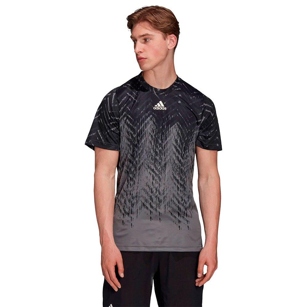 Adidas T-shirt Manche Courte Fiift Pr Pb L Grey Five