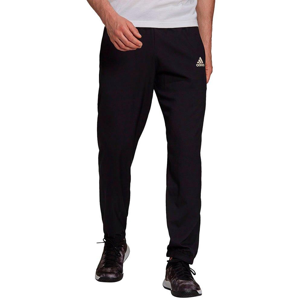Adidas Pantalons Woven M Black / White
