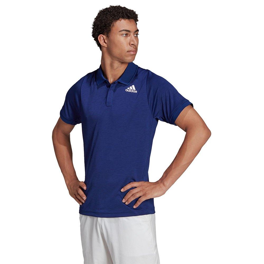 Adidas Polo Freelift M Victory Blue / White