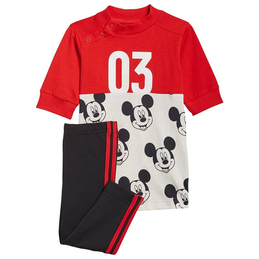 Adidas Ensemble Inf Dy Marimekko Sum 98 cm Vivid Red / White / Black / Black / Vivid Red S21