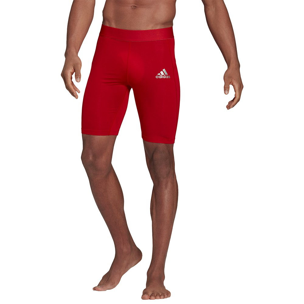 Adidas Maille Courte Tech-fit L Team Power Red