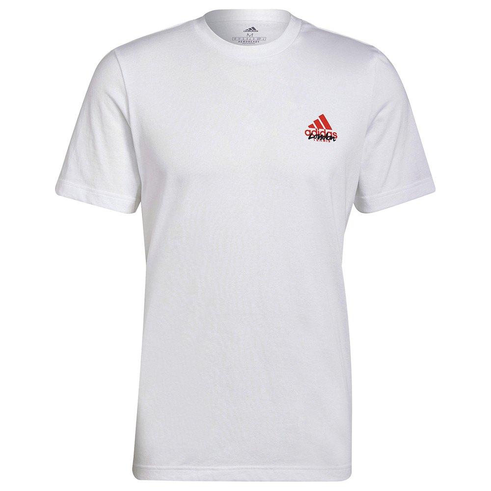 Adidas T-shirt Wimbl M White