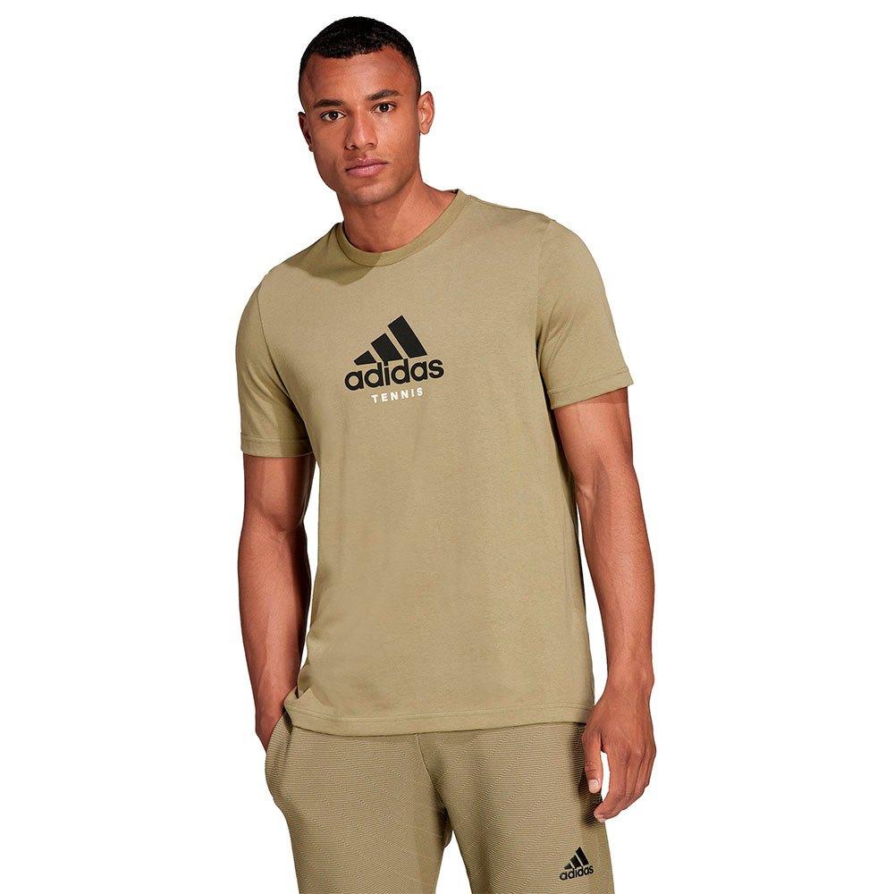 Adidas T-shirt Q4 Us Open Fenc L Orbit Green