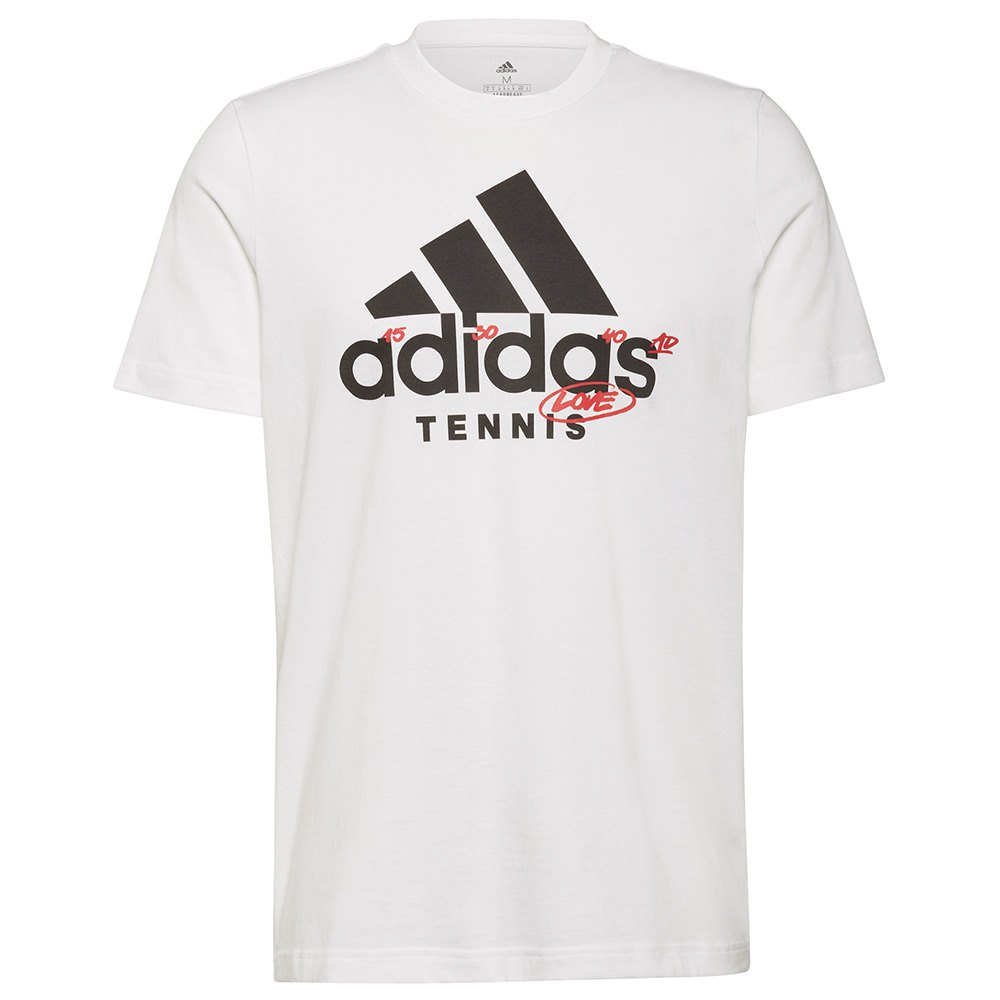 Adidas T-shirt Cat M White